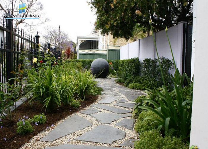 đá lát sân vườn