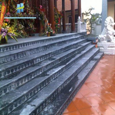đá ốp bậc tam cấp đá hoa cương granite