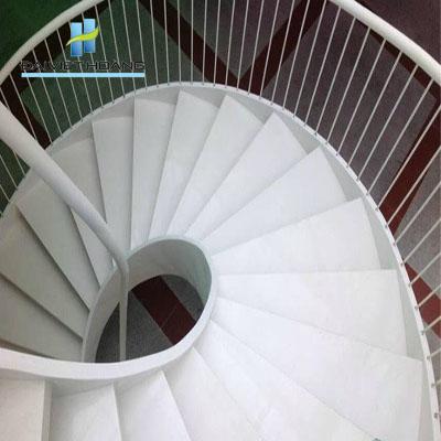 đá cầu thang màu trắng