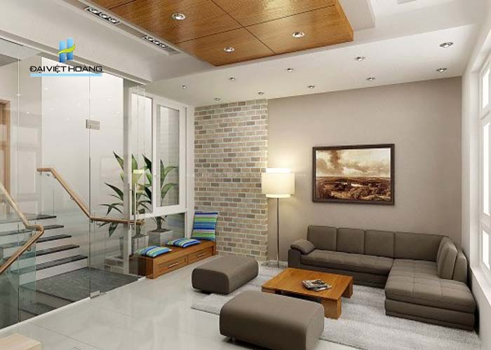 đá ốp tường trang trí nội thất