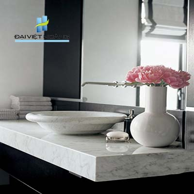 mẫu bàn đá lavabo