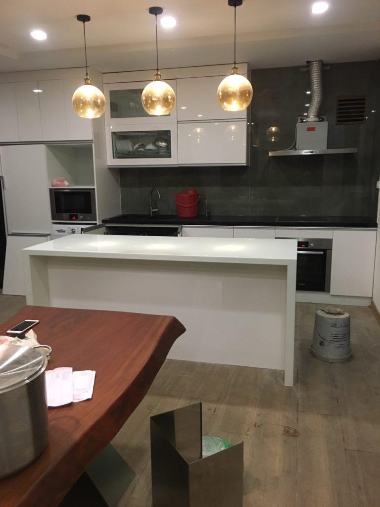 Tổng thể căn bếp