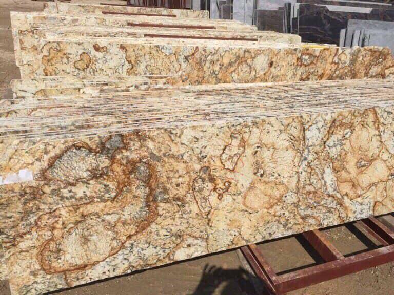 Hình ảnh Slab đá Vàng hoàng gia Solarius