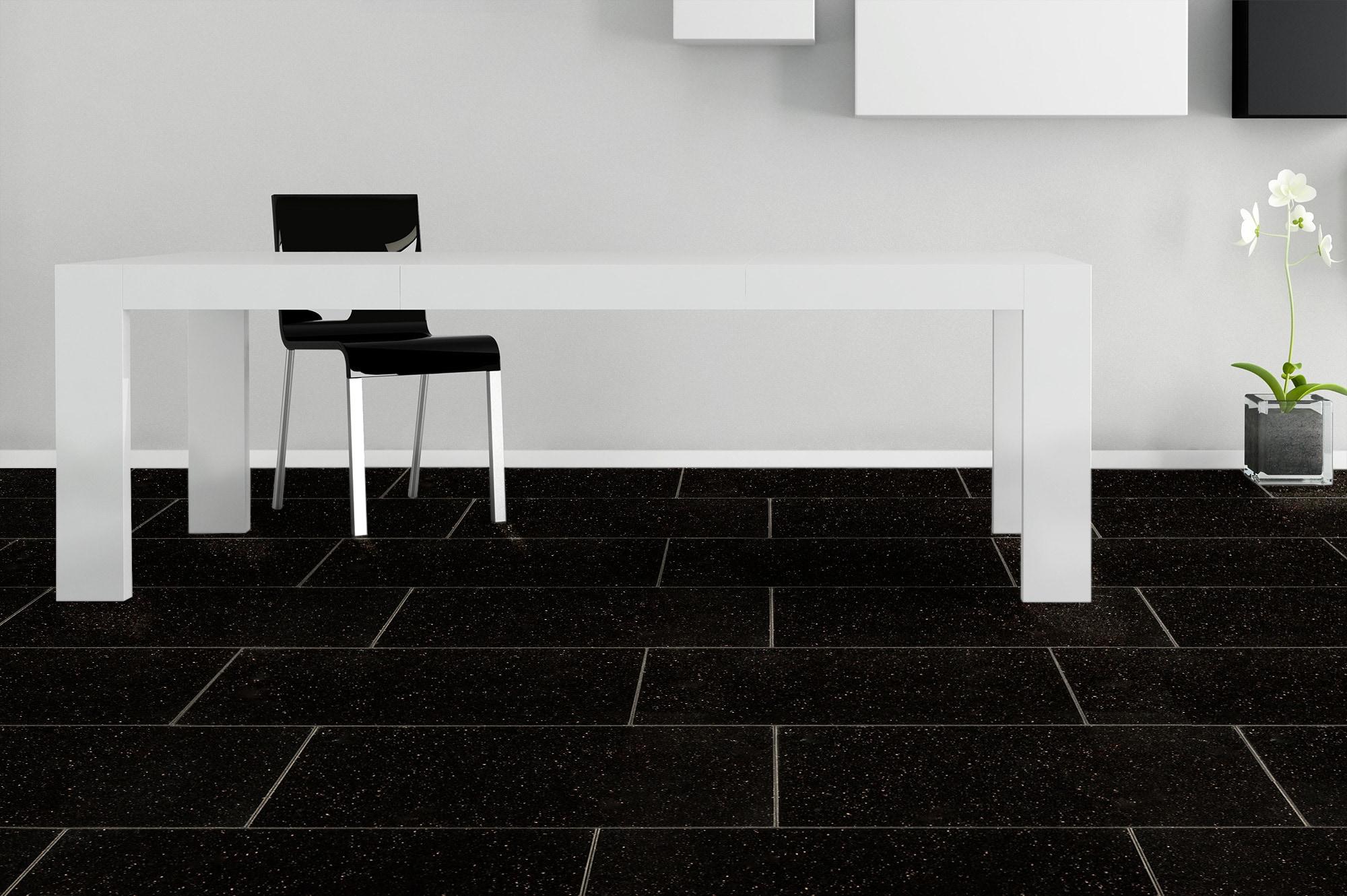 Kết hợp đen trắng trong kiến trúc
