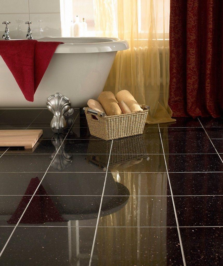 Granite Kim sa trung lát sàn nhà tắm đẹp